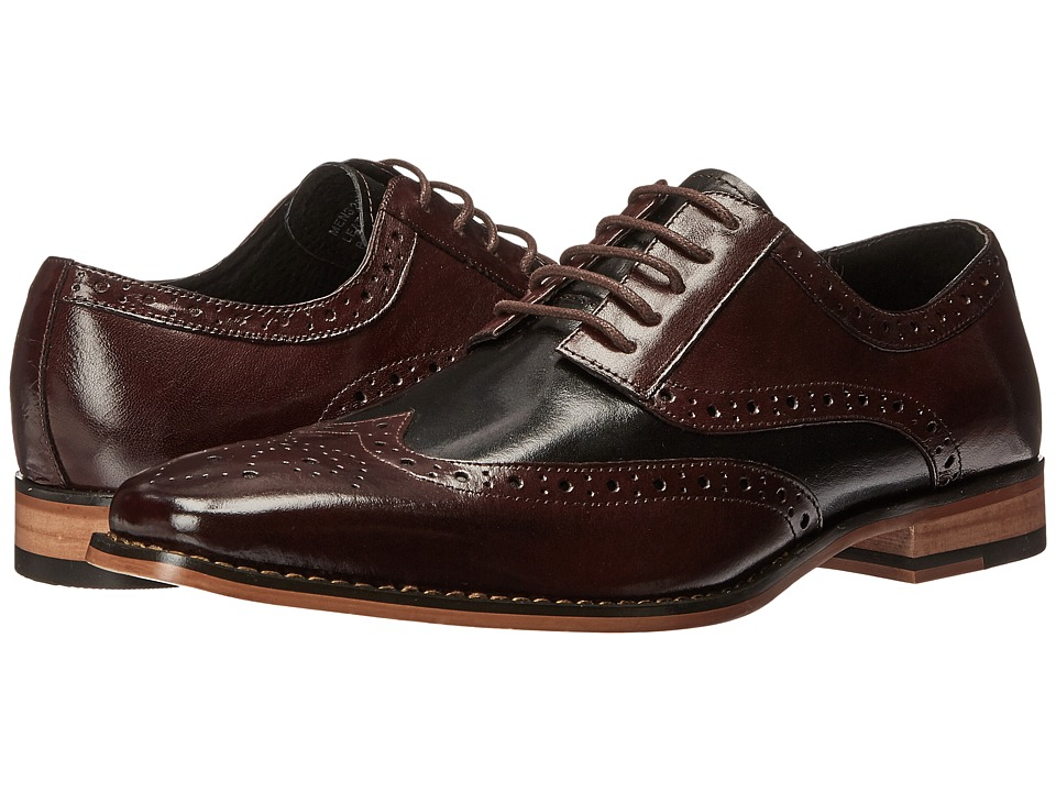 Stacy Adams Tinsley (Burgundy/Black) Men