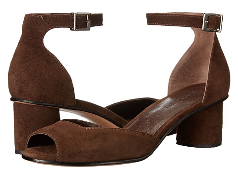 RACHEL COMEY Bodie - Chocolate Suede at 6PM.COM