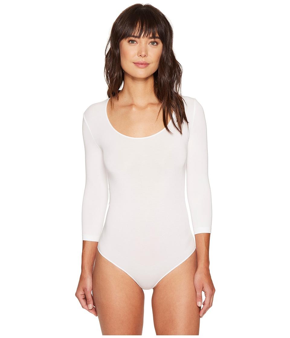 Wolford Tokio String Bodysuit (White) Women's Underwear