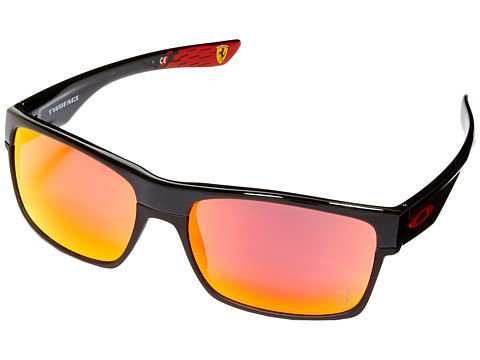 Oakley Two Face - Polished Black/Ruby Iridium