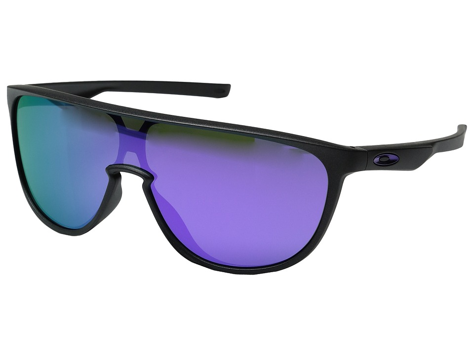 Oakley - Trillbe (Steel/Violet Iridium) Fashion Sunglasses