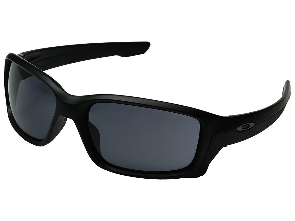 Oakley - Straightlink (Matte Black/Grey) Fashion Sunglasses