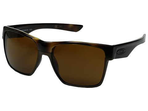 Oakley Two Face XL - Polished Brown Tortoise/Dark Bronze