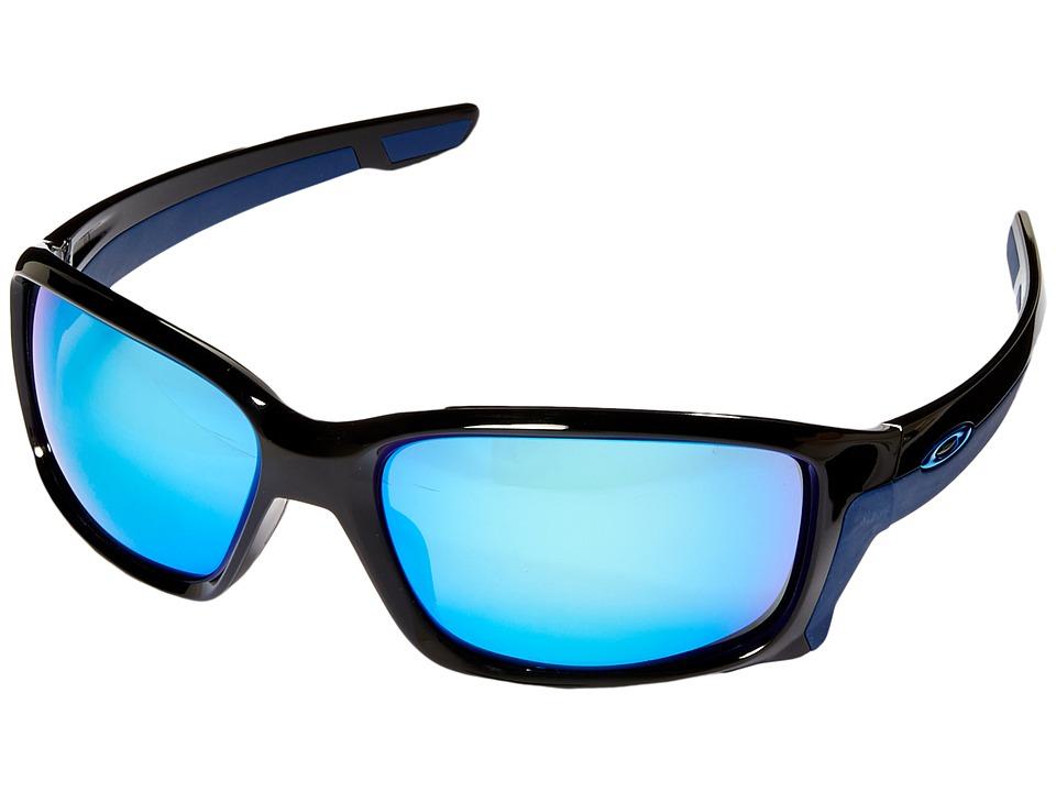 Oakley Straightlink (Polished Black/Sapphire Iridium) Fas...