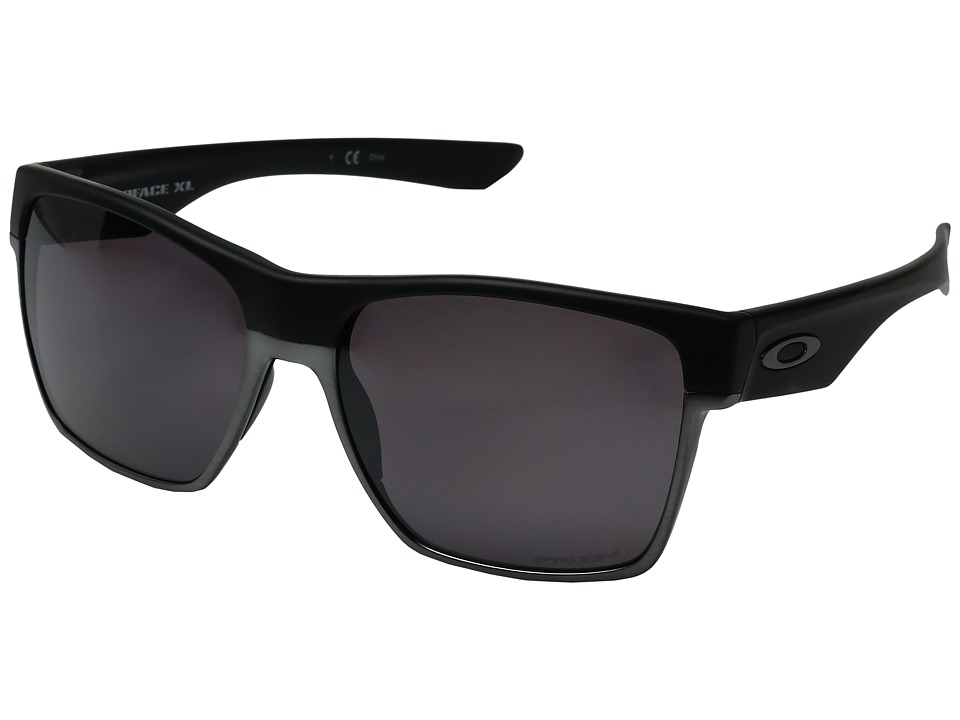 Oakley - Two Face XL (Matte Black/Prizm Daily Polarized) Fashion Sunglasses