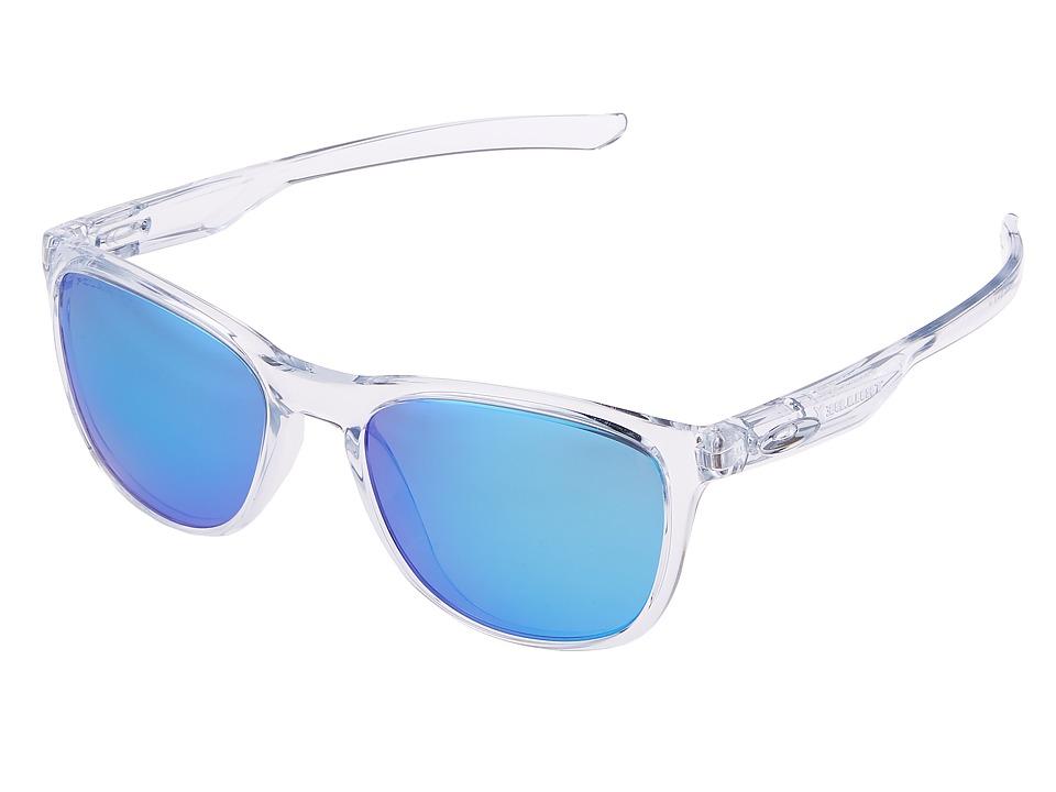 Oakley Trillbe X (Matte Clear/Sapphire Iridium Polarized)...