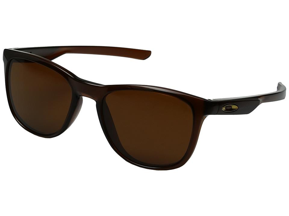 Oakley Trillbe X (Matte Rootbeer/Dark Bronze) Fashion Sun...
