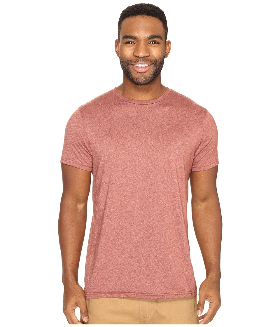 Volcom Heather Solid T-Shirt (Dark Clay) Men