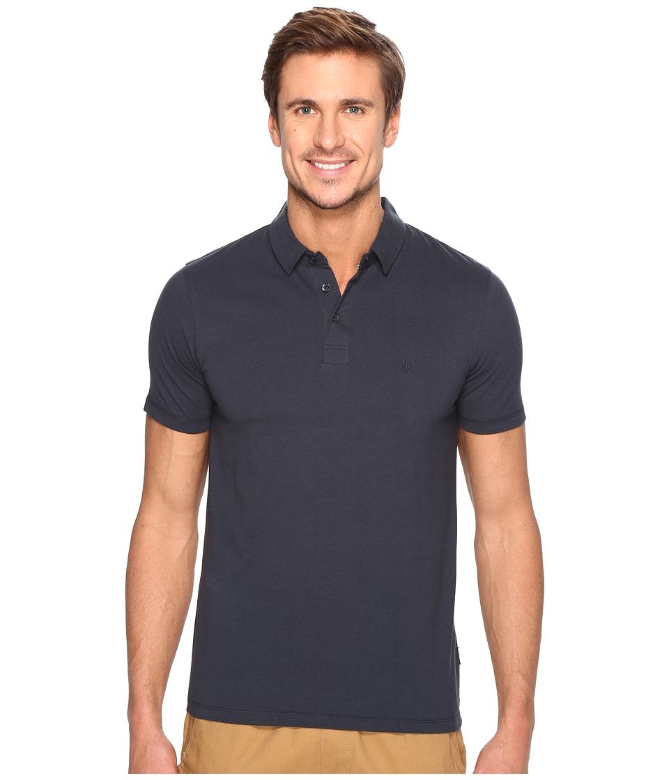 Volcom - Wowzer Polo (Navy 1) Mens Short Sleeve Knit