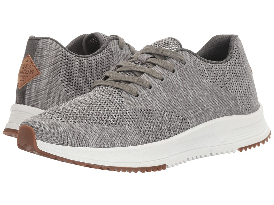 Freewaters - Tall Boy Trainer Knit (Grey) Mens Sandals