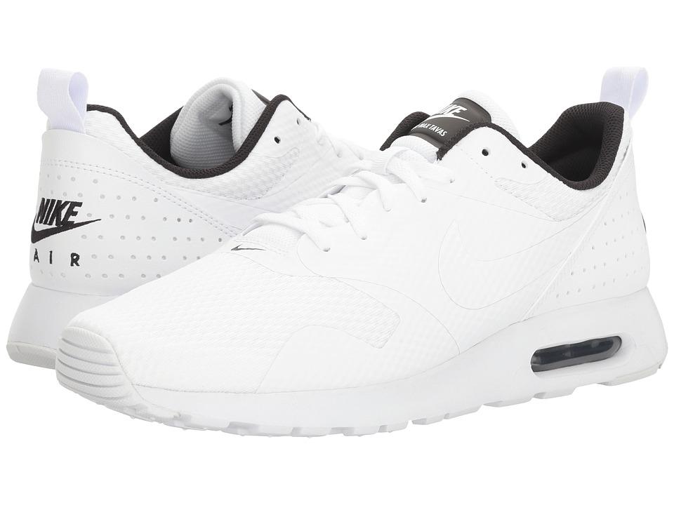 Nike Air Max Tavas (White/White/Black) Men