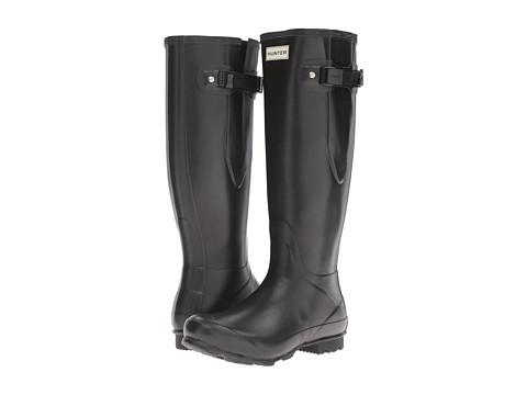 Hunter Norris Field Side Adjustable Boot - Black