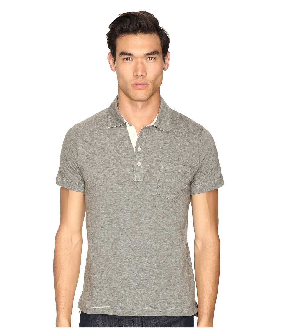 Billy Reid - End-On-End Pensacola Polo (Olive) Mens Clothing