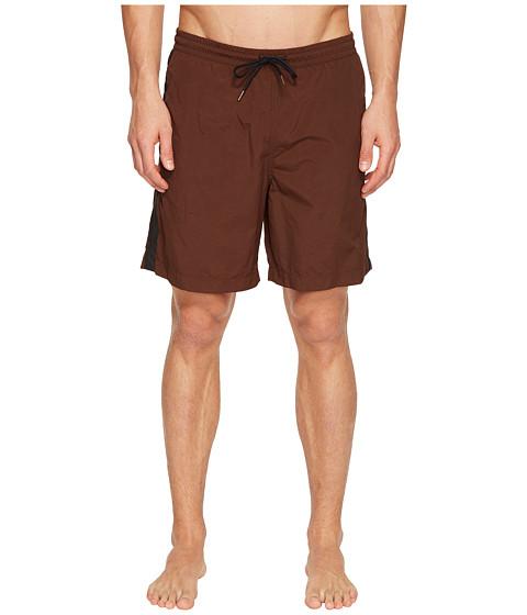 Billy Reid Taped Swim Shorts