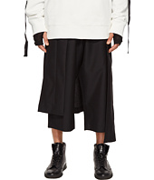 D.GNAK - Asymmetric Skirt Layered Pants