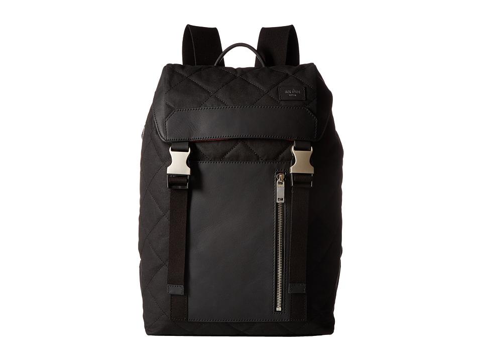Jack Spade - Quilted Waxwear Army Backpack