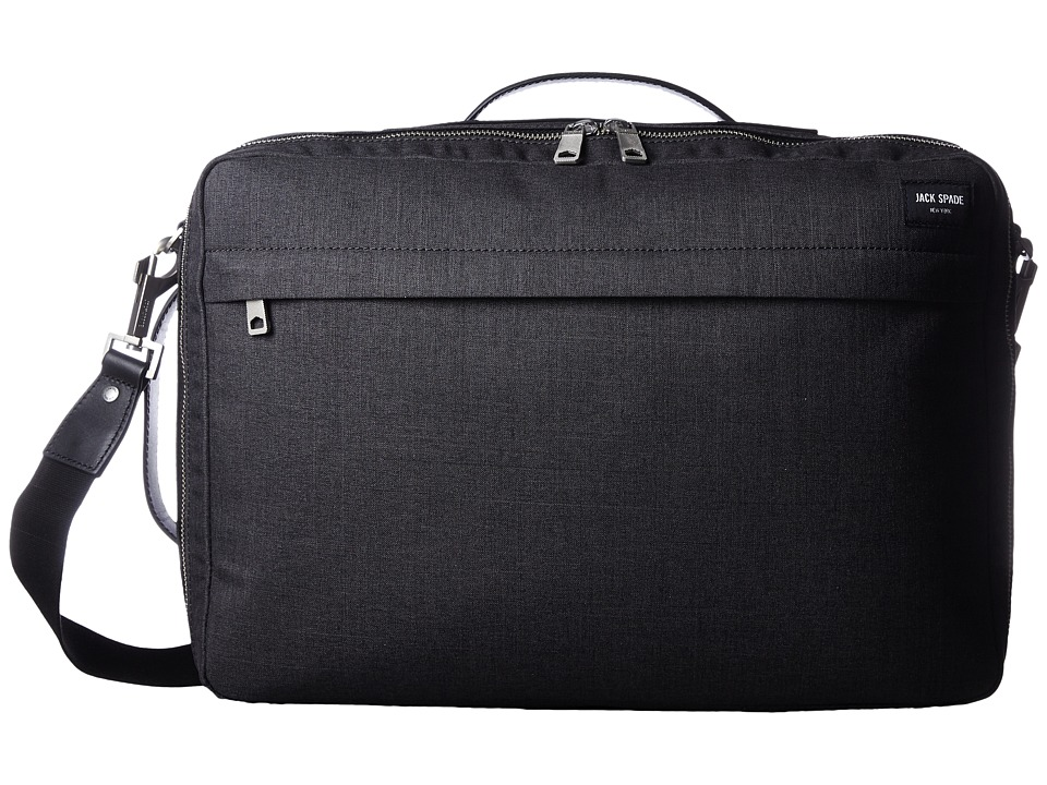 Jack Spade Tech Oxford Convertible Briefpack (Charcoal) Briefcase Bags