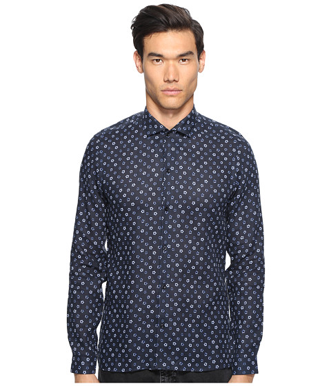 The Kooples Hippie Flowers Button Up