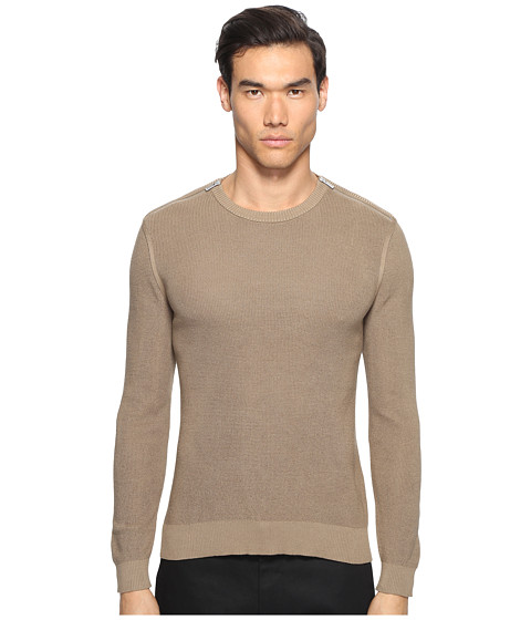 The Kooples Cotton Pearl Stitch Sweater