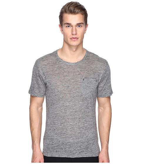 The Kooples Linen Jersey and Skullhead Pocket T-Shirt