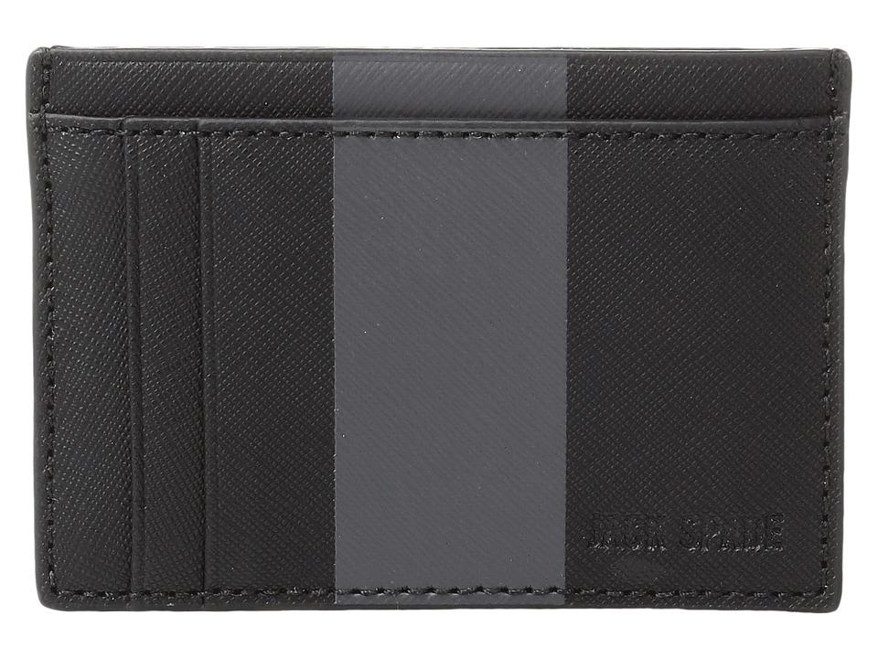 Jack Spade - Striped Barrow Leather ID Wallet