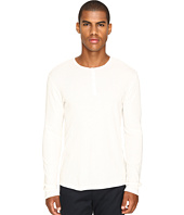 Vince - Raw Edge Long Sleeve Henley