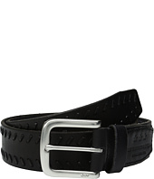 John Varvatos - Laced Strap Belt with Harness Buckle