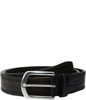 John Varvatos - Laser Cut Strap Belt with Harness Buckle