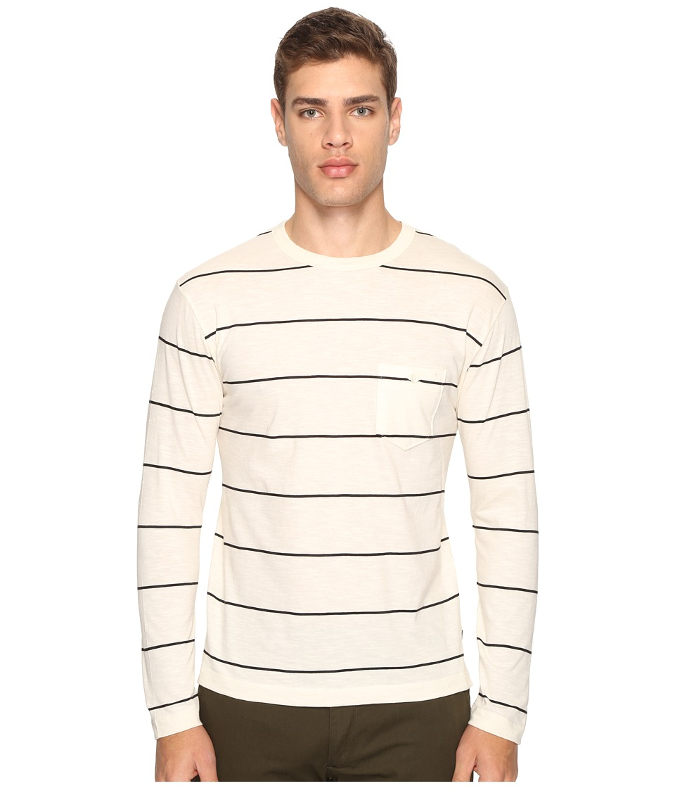 Todd Snyder - Wide Stripe Long Sleeve Tee