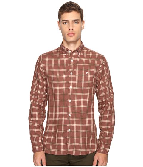 Todd Snyder Linen Windowpane Shirt - Brown