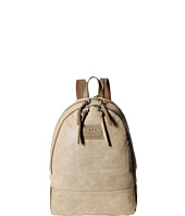 John Varvatos - Perf Waxed Suede Backpack