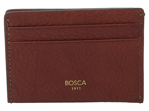 Bosca Washed Collection - Weekend Wallet - Cognac