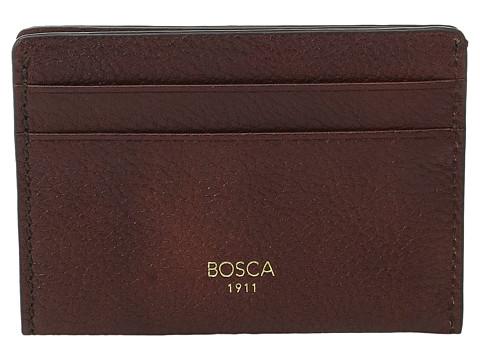 Bosca Washed Collection - Weekend Wallet - Dark Brown