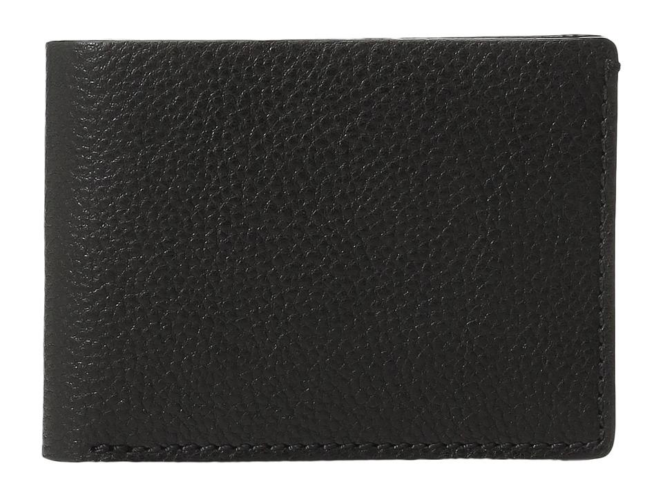 Bosca - Washed Collection - Small Billfold (Black) Wallet Handbags
