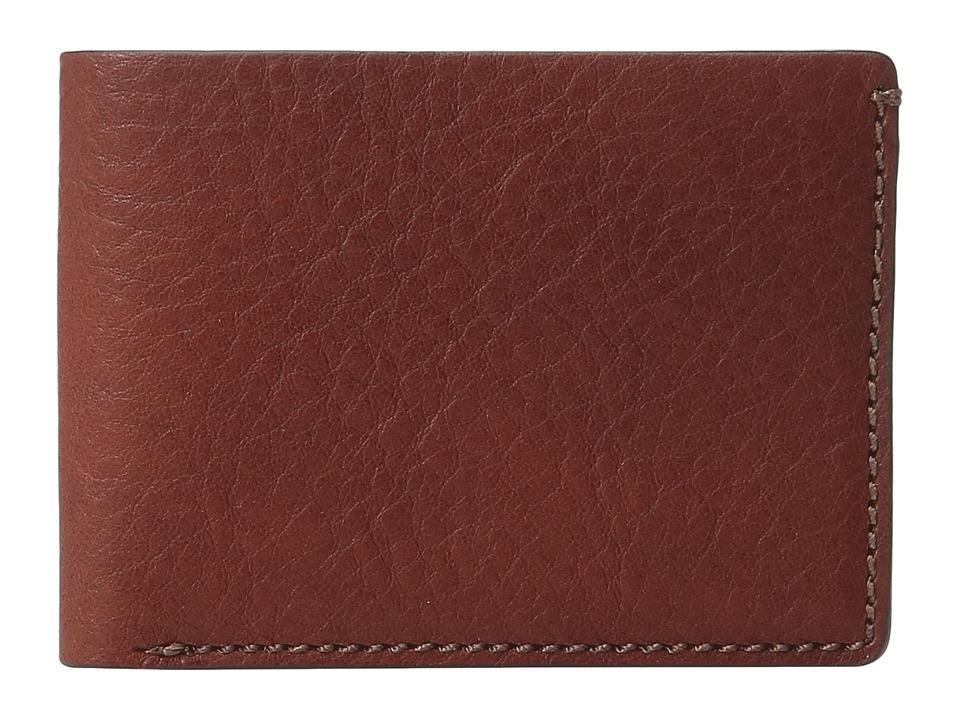 Bosca - Washed Collection - Small Billfold (Coganc) Wallet Handbags