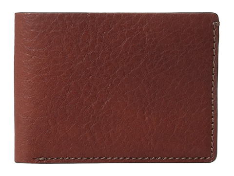 Bosca Washed Collection - Small Billfold - Cognac