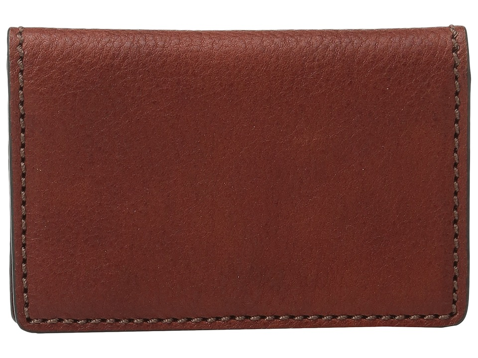 Bosca Washed Collection - Gusseted Card Case (Cognac) Cre...