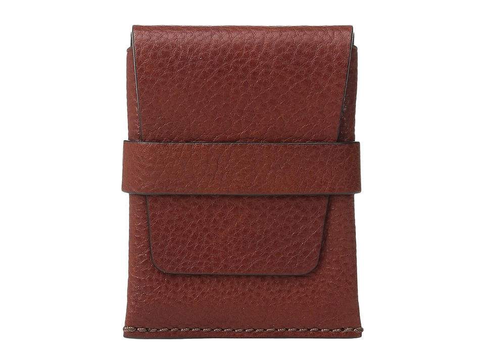 Bosca Washed Collection - Envelope Card Case (Cognac) Cre...