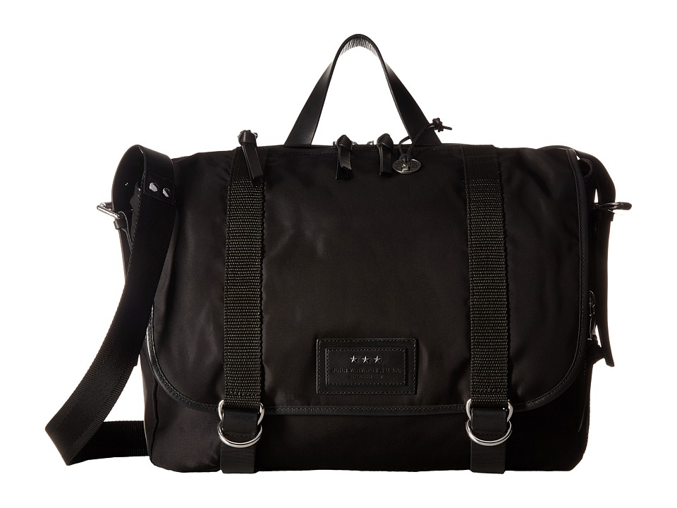 John Varvatos Messenger Bag (Black) Messenger Bags