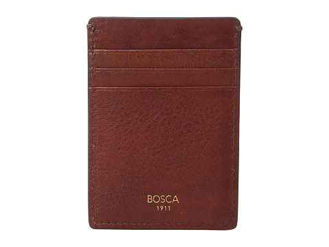 Bosca Washed Collection - Deluxe Front Pocket Wallet - Coganc