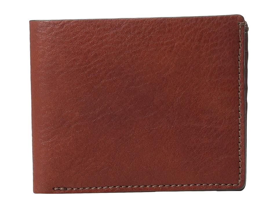 Bosca - Washed Collection - 8-Pocket Deluxe Executive Wallet (Coganc) Wallet Handbags
