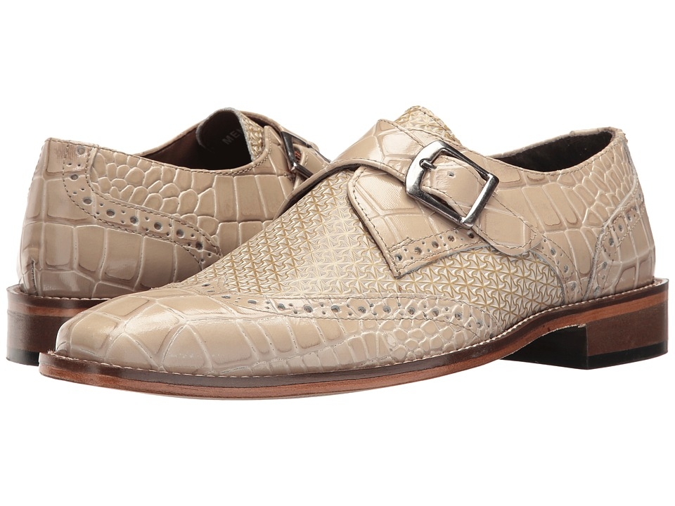 60s Mens Shoes | 70s Mens shoes – Platforms, Boots Stacy Adams - Giannino Taupe Mens Shoes $72.99 AT vintagedancer.com
