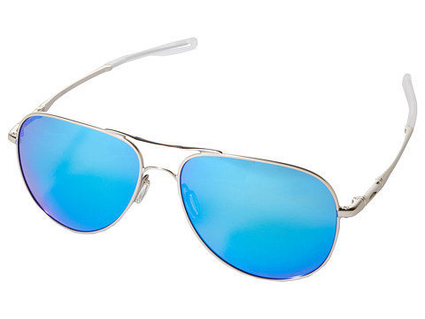 Oakley Elmont L - Satin Chrome/Sapphire Iridium Polarized