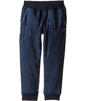 True Religion Kids - Indigo Mineral Wash Sweatpants (Toddler/Little Kids)