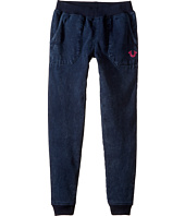 True Religion Kids - Indigo Mineral Wash Sweatpants (Little Kids/Big Kids)
