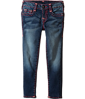 True Religion Kids - Casey Black and Fever Combo Super T Jeans (Toddler/Little Kids)