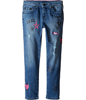 True Religion Kids - Casey Doodle Jeans in Super Shredded (Toddler/Little Kids)