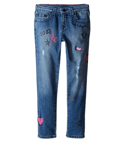 True Religion Kids Casey Doodle Jeans in Super Shredded (Toddler/Little Kids)