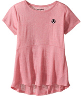 True Religion Kids - Glitter Stripe Peplum T-Shirt (Little Kids/Big Kids)