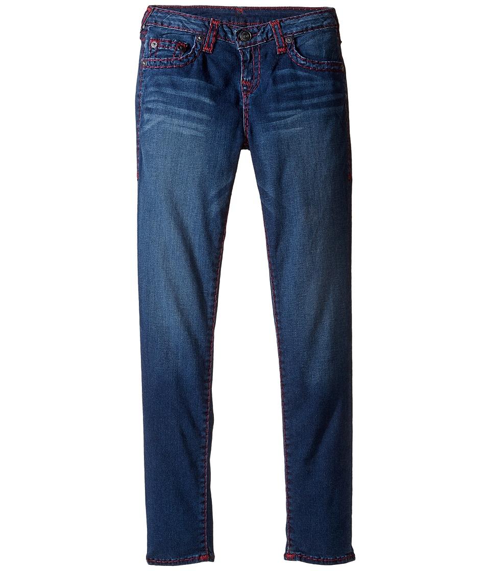 True Religion Kids Casey Super T Jeans (Big Kids) (Heather Sky) Girl